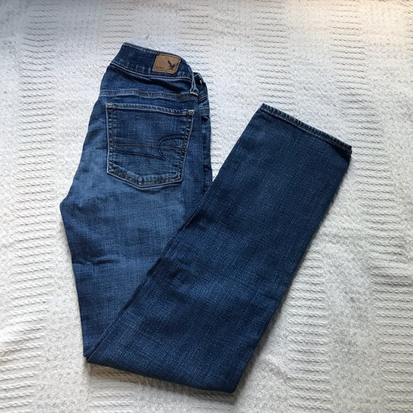 American Eagle Outfitters Denim - American Eagle Straight Leg Jeans